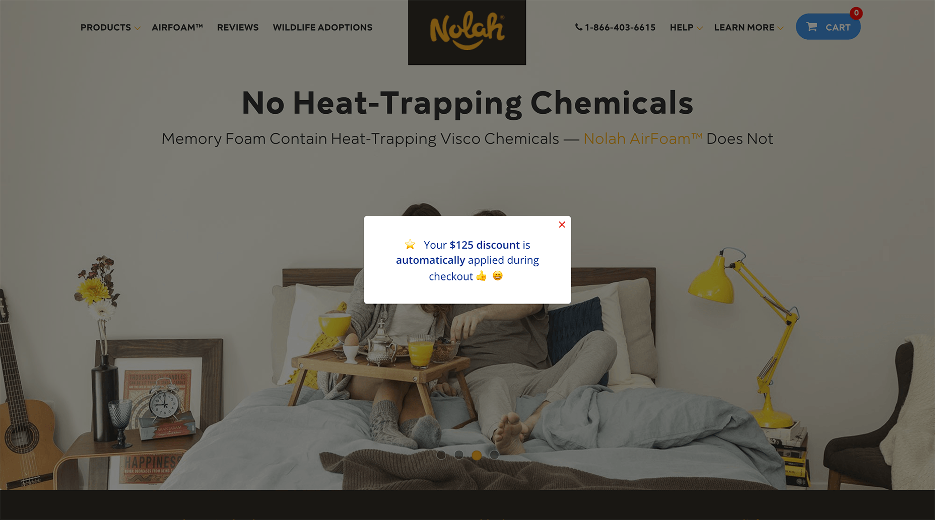 Coupon Popup for Existing Customers