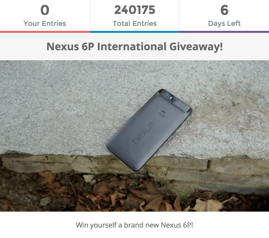 Android Authority Gleam Giveaway