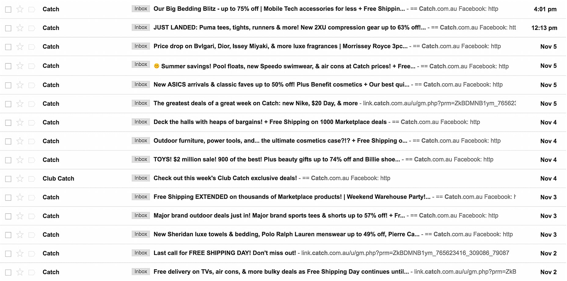 Catch Emails