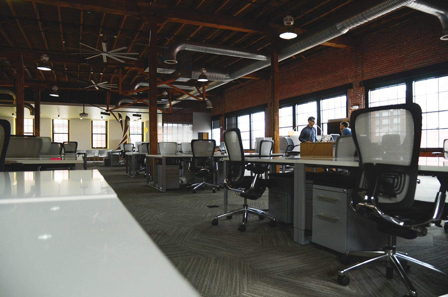 Spend some time at a co-working space