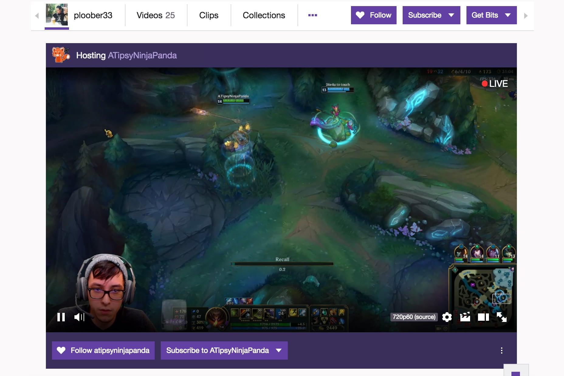 Hopst Other Streamers on Twitch