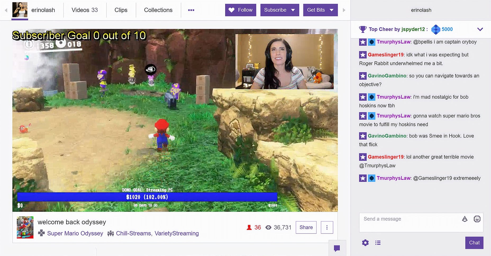 Visit other Twitch streams