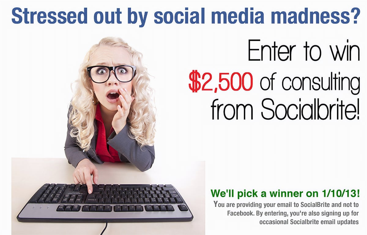 Socialbrite offers free consultation as a prize