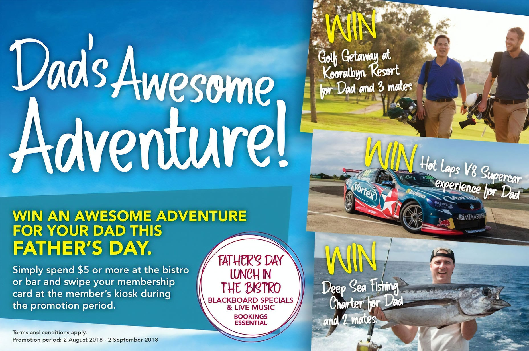 Dad's Awesome Adventure Giveaway