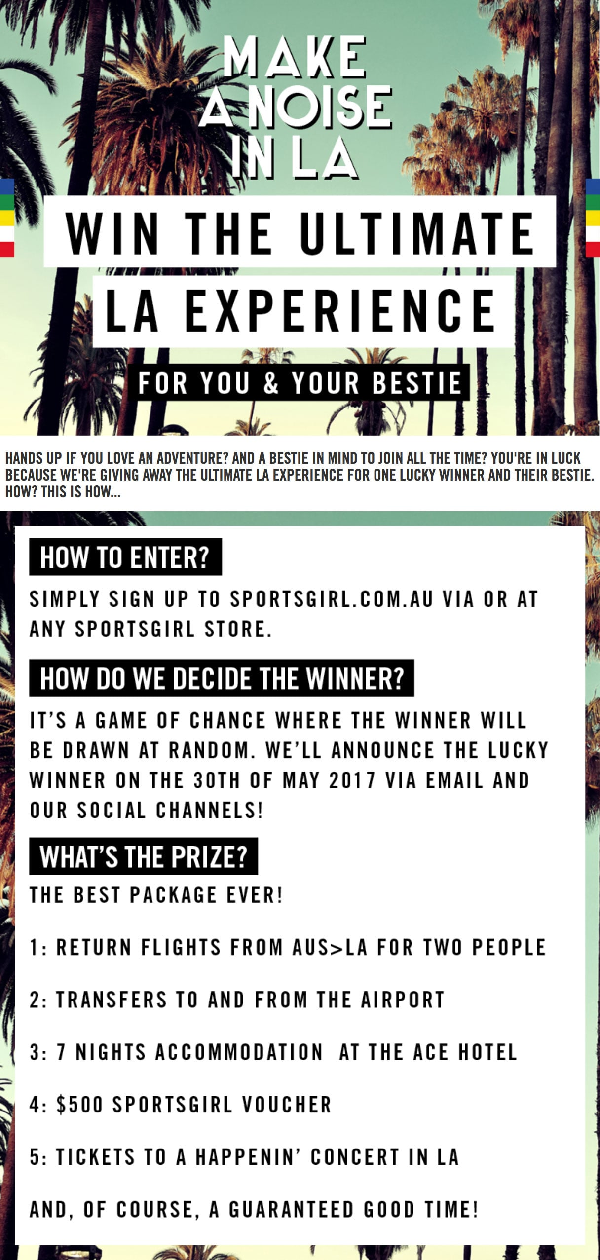 Sportsgirl Holiday Giveaway