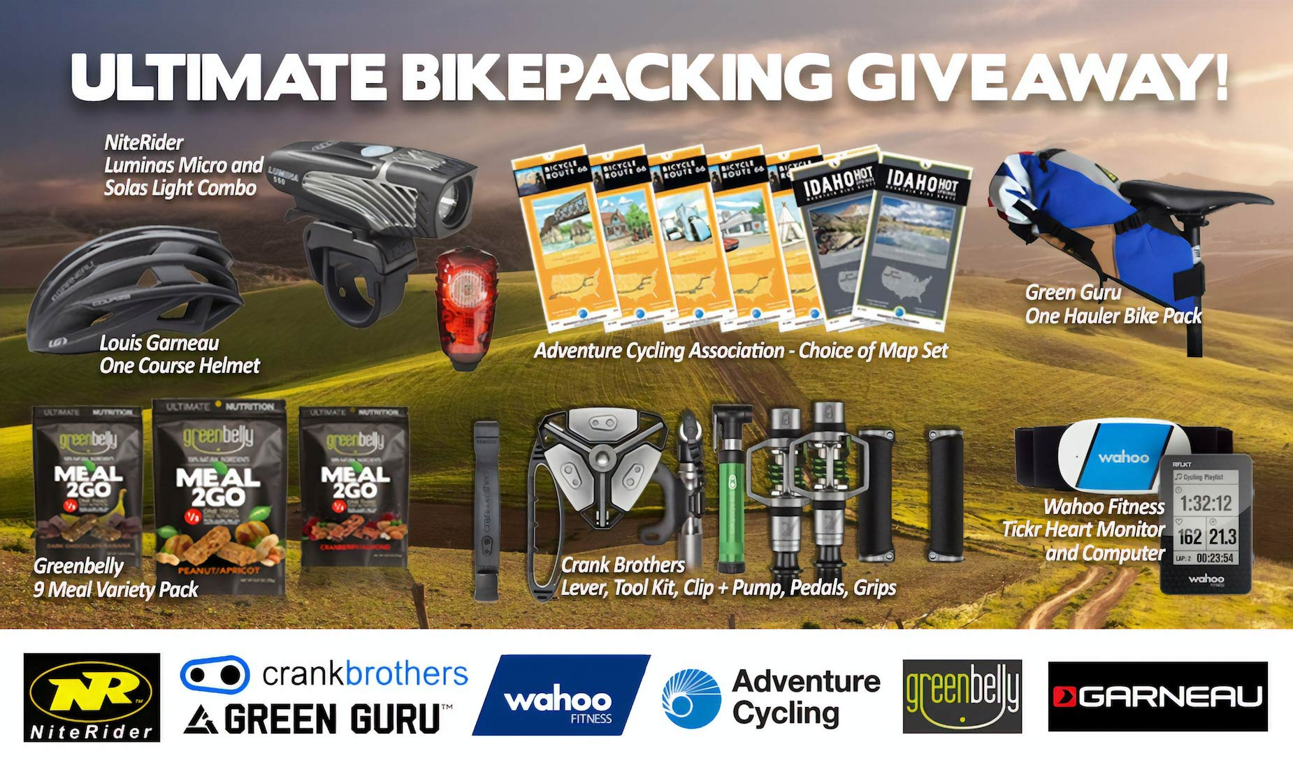 Ultimate Bickpacking Giveaway